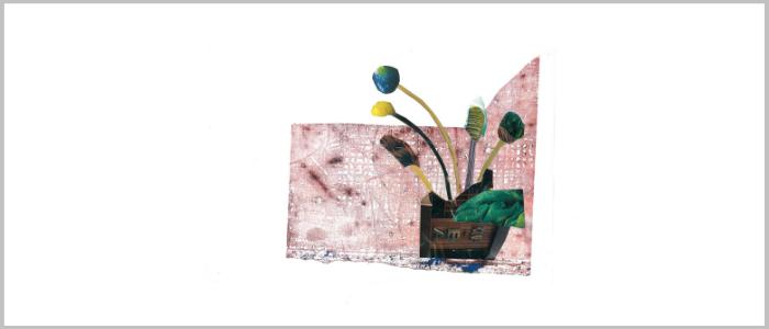 "Olga Volna ""Collages"" No name 70"