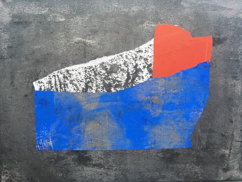 """Olga Volna """"Collages""""   Minimalistic forms 2"""